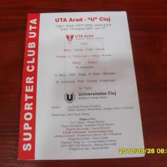 Program      UTA  -  U  Cluj