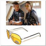 Ochelari Soare Aviator Design Pentru Condus Cu Efect Anti Orbire