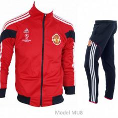 Trening Manchester United - Bluza si pantaloni conici - Modele noi - 1047 - Trening barbati, Marime: S, Culoare: Din imagine