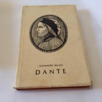 Alexandru Balaci - Dante Alighieri {Col. Oameni de seama},r12 foto
