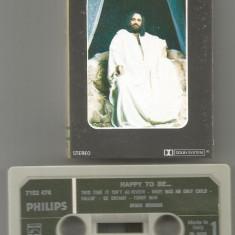 A(02) Caseta audio-DEMIS ROUSSOS-Happy to be... 1976 extrem de rar - Muzica Hip Hop Altele, Casete audio