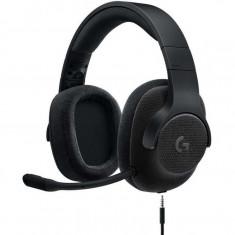 Casti gaming Logitech G433, 40 mm, 7.1 Surround, PC, XBox One, PlayStation 4, Negru - Casca PC Logitech, Casti cu microfon