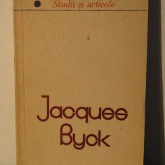 JACQUES BYCK.STUDII SI ARTICOLE - Studiu literar