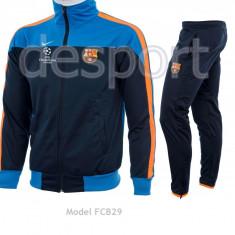 Trening BARCELONA - Bluza si pantaloni conici - Modele noi - Pret Special 1003 - Trening barbati, Marime: S, L, Culoare: Din imagine