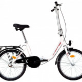 Bicicleta Pliabila DHS Folding 2092 (2017) Cadru 350mm AlbPB Cod:217209290