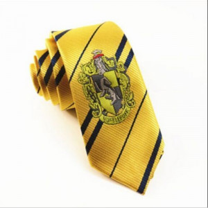 Cravata - HARRY POTTER - Model Hufflepuff