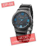 Ceas barbati CURREN CP-04 quartz - LIVRARE GRATUITA + CADOU