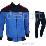 Trening Steaua - FCSB - Bluza si pantaloni conici - Modele noi - 1016 - Trening barbati, Marime: XXL, Culoare: Din imagine