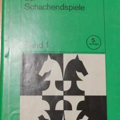 J. Awerbach - Lehrbuch der Schachendspiele. Band 1. Carte sah in germana