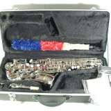Saxofon ARGINTIU curbat ALT Cherrystone ALTO Saxophone Mib NOU Germani