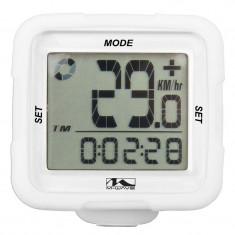 Bike Computer Wireless/Alb Xiv Silicon M-WavePB Cod:244711 - Piesa bicicleta