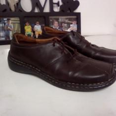 PANTOFI INTEGRAL DIN PIELE MASURA 41 BARBATI CONFORTABILI MARO - Pantofi barbat