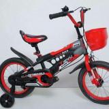 Bicicleta copii 2-4 ani, 12 inch, Numar viteze: 1