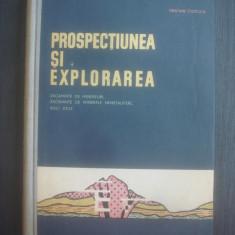 GRATIAN CIOFLICA - PROSPECTIUNEA SI EXPLORAREA (Zacaminte minereuri, minerare..) - Carte Geografie