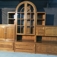 Biblioteca lemn masiv import Germania - Set mobila living