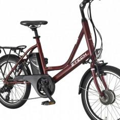 Bicicleta electrica Compact 20Km 36V 6.6Ah Autonomie 40km RosuPB Cod:E00073-1 - Mountain Bike