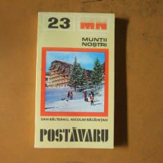 Postavaru muntii nostri 23 D. Balteanu Bucuresti 1980 - Carte Geografie