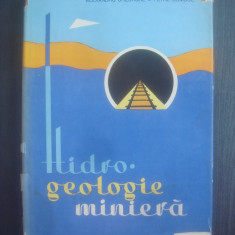 AL. GHEORGHE, PETRE BOMBOE - HIDRO.GEOLOGIE MINIERA