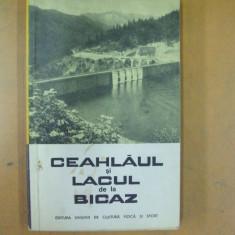 Ceahlaul si lacul de la Bicaz Bucuresti 1963 2 harti color S. Nicolau