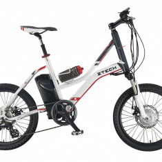 Bicicleta electrica Compact 20Km 36V 6.6Ah Autonomie 40km AlbPB Cod:E00072-8 - Mountain Bike