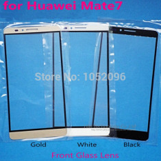 Geam Huawei Ascend Mate 7 negru alb sau auriu / ecran sticla noua - Geam carcasa