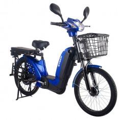 Bicicleta electrica Laser 2.0 48V 12Ah Autonomie 40Km AlbastruPB Cod:E00010-2