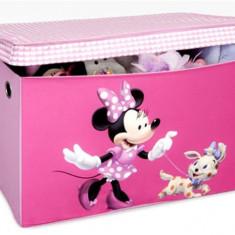 Cutie pentru depozitare jucarii Disney Minnie Mouse - Sistem depozitare jucarii