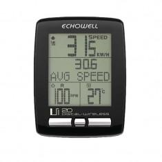 BIKE COMPUTER ECHOWELL UI20PB Cod:244616 - Piesa bicicleta