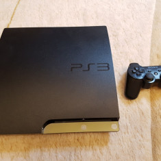 Ps3 slim+controller+12 jocuri - PlayStation 3 Sony