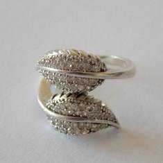 Inel argint cu zirconii -1599