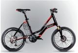 Bicicleta electrica Compact 20Km 36V 6.6Ah Autonomie 40km Negru PB Cod:E00072-4