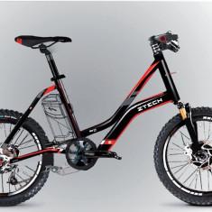 Bicicleta electrica Compact 20Km 36V 6.6Ah Autonomie 40km Negru PB Cod:E00072-4 - Mountain Bike