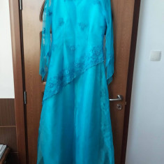 Rochie albastra - Rochie de zi, Marime: 46, Culoare: Albastru