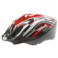 "CASCA CICLISM VENTURA ""RED"" M(53-57 CM)PB Cod:731034 - Echipament Ciclism, Casti bicicleta"