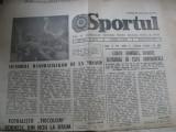 Lot 6 ziare Sportul 1985