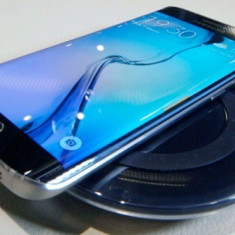 Vand samsung s6 edge plus - Telefon Samsung, Negru, 64GB, Neblocat, Single SIM