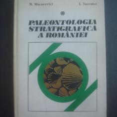 NECULAI MACAROVICI, ILIE TURCULET - PALEONTOLOGIA STRATIGRAFICA A ROMANIEI