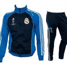 Trening REAL MADRID - Bluza si pantaloni conici - Modele noi - Pret Special 1036 - Trening barbati, Marime: S, M, L, Culoare: Din imagine