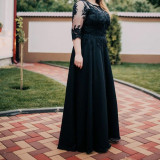 Rochie de nunta - Rochie de seara, Marime: 46, Culoare: Negru
