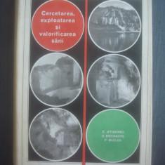 C. ATUDOREI, E. BOCANETE - CERCETAREA, EXPLOATAREA SI VALORIFICAREA SARII