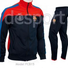 Trening BARCELONA - Bluza si pantaloni conici - Modele noi - Pret Special 1007 - Trening barbati, Marime: L, XL, Culoare: Din imagine