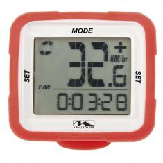 Bike Computer Wireless/Rosu M-Wave Xiv SiliconPB Cod:244712 - Piesa bicicleta