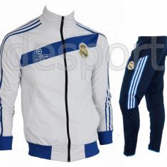 Trening REAL MADRID - Bluza si pantaloni conici - Modele noi - Pret Special 1033 - Trening barbati, Marime: S, L, Culoare: Din imagine