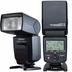 Blitz flash Yongnuo YN568EX II TTL master HSS 8000s Speedlite pentru Nikon