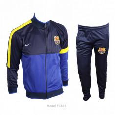 Trening BARCELONA - Bluza si pantaloni conici - Modele noi - Pret Special 1009 - Trening barbati, Marime: XL, XXL, Culoare: Din imagine