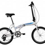 Bicicleta Pliabila DHS Folding 2095 (2017) Alb-AlbastruPB Cod:217209593