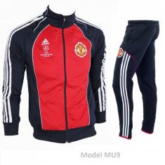 Trening Manchester United - Bluza si pantaloni conici - Modele noi - 1048 - Trening barbati, Marime: S, Culoare: Din imagine