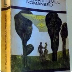 ROMANTISMUL ROMANESC de D. POPOVICI, 1972