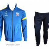Trening Steaua - FCSB - Bluza si pantaloni conici - Modele noi - 1018 - Trening barbati, Marime: S, Culoare: Din imagine