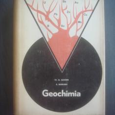 K. RANKAMA, TH. G. SAHAMA - GEOCHIMIA